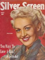 MARCH 1951 SILVER SCREEN vintage movie magazine BETTY GRABLE
