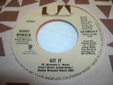 UNPLAYED NM! Soul 45 BOBBY WOMACK Git It on United Artists