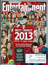 2013 Entertainment Weekly: Best & Worst Movies TV Music Books