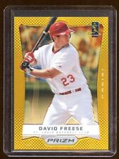 DAVID FREESE TOPPS PRIZM GOLD REFRACTOR 06/10 MINT  CARDINALS SUPERSTAR