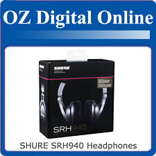 Shure SRH-940 SRH940 DJ Headphones Professional Stereo 1 Yr Oz Wty