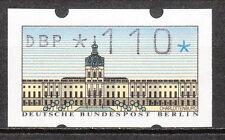 Berlino 1987 automarten-marchio libero 110er post freschi LUSSO!!! (a142)