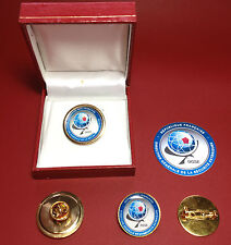 DGSE ( French Secret Police  Agency) HIGH QUALITY  BADGE SETS + FREE STICKER