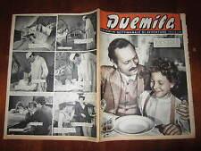 """FOTOROMANZO """"DUEMILA"""" SETTIMANALE DI AVVENTURE NUMERO 39 DEL 30 SETTEMBRE 1951"""
