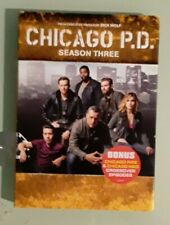 Chicago Pd P.D. season 3 third three Dvd New slipcover edge and other scuffing