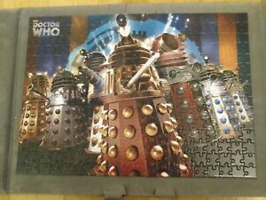 Complete 300 large piece BBC Dr Who Jigsaw. Titled 'The Daleks'