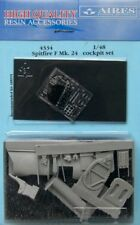 Aires 1/48  Spitfire F Mk.24 Cockpit Set for Airfix kit # 4334