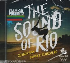 TEAM GB PRESENTS - THE SOUND OF RIO - VARIOUS  *NEW & SEALED 2016 CD ALBUM*