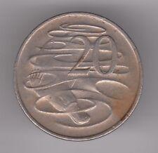 Australia 1978 20 centavos moneda de níquel de cobre-Duckbill Ornitorrinco