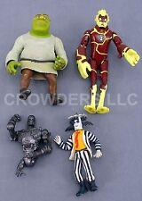 Movie Figure Collection Shrek Beetlejuice Ben10 Heatblast Terminator T-800