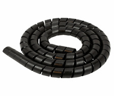 5/8 inch-Spiral Wrap-Cable-Wire-Wrap-Tube Harness. Black. 15 Foot Roll