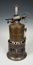 ANTIQUE 19TH C. WEEDEN UPRIGHT TOY STEAM ENGINE- EARLY MODEL, #1 ETC...