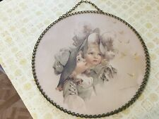 Victorian Chimney Flue Cover Vintage Replica Gallery Graphics 2 Girls