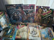 """Arela, Rendition, anime """"Spawn"""" Mixed Action Figures - Lot of 11 see pics"""