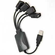 PC USB 1.1 Mini 4 Port Octopus Hub High Speed Splitter Cable 120Mbps