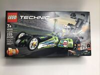 LEGO Technic Dragster 42103 225 Pieces Pull-Back Racing Toy Building Kit