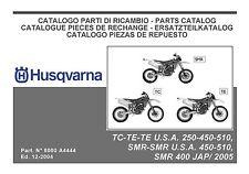 Husqvarna Parts Manual Book 2005 SMR 400 JAP