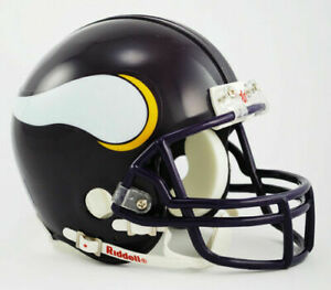 Minnesota Vikings 1983-2001 83-01 Throwback VSR Riddell Football Mini Helmet New
