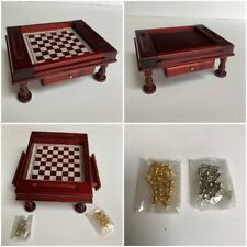 Dolls House Miniature Games Table T119