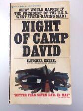 Night of Camp David by Fletcher Knebel (Bantam, 1969, Paperback)