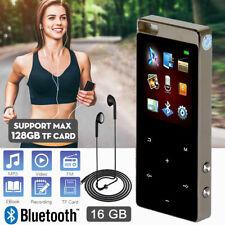 1,8''Zoll LCD Display Bluetooth MP3 Player 16GB Musik spieler FM Radio HiFi Bass