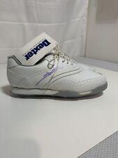 Dexter Womens Golf Shoes Size 8 White / Purple Metal Spikes