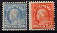 G138273/ UNITED STATES / SCOTT # 515 / 516 MINT MNH CV 160 $