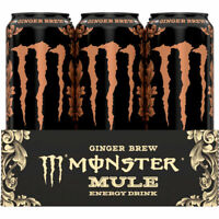 Monster Mule Ginger Brew 12x0.50l Ds Energy Drink