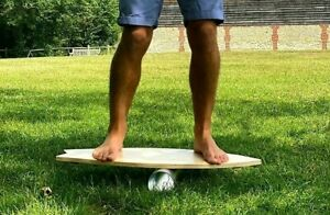 Surf Balance Board - Wooden Surfboard  Kiteboard - Not Indo board - Board only