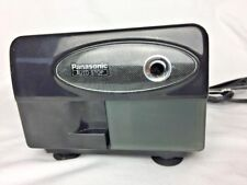 Panasonic Auto Stop Electric Black Pencil Sharpener KP-310