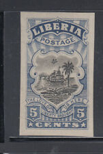 Liberia # 165 Proof  IMPERFORATE NG As Always Ship