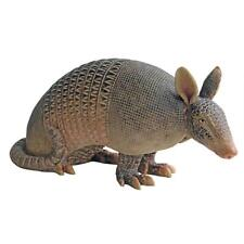 Armadillo Garden Statue Lifelike Wildlife Texas State Animal Sculpture