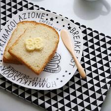 4pcs Scandinavian Style Geometric Cotton Placemats Linen Pad Table Mat Napkins