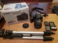 Canon EOS Rebel SL3 24.1MP Digital Camera - Black (Kit with EF-S 18-55mm f/4-5.6