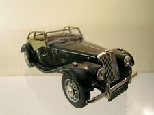 K&R REPLICAS MG TF MIDGET 1954 OPEN COLOUR BLACK HANDBUILT BOXED SCALE 1:43