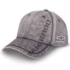 c5b7b6dbe40a9 Chevrolet Silverado Washed Chino Gray Hat