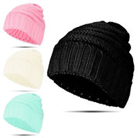 Fashion Women Adult Winter Warm Baggy Beanie Knit Crochet Hat Girl Ski Cap