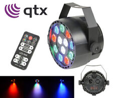 QTX B12P Rechargeable 12W RGBW LED Par Can Spot DJ Light Uplighter DMX + Remote