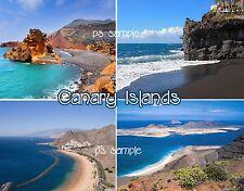 Spain - Canary Islands - Travel Souvenir Flexible Fridge Magnet