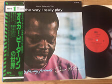 JAPAN LP Oscar Peterson Trio – The Way I Really Play : MPS