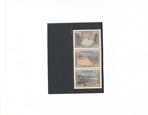 SYRIA: Sc. 1803 / **ANCIENT AMPITHEATERS **/  Strip of 3 / MNH.
