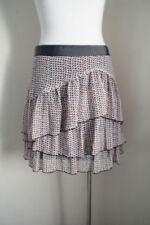 Regular Size Polka Dot Above Knee Skirts for Women