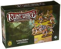 Runewars: Miniatures Game Leonx Riders Unit Expansion Fantasy Flight NEW SEALED