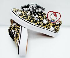 Vans Authentic Hello Kitty Leopard True White VN-0W4NDKS Women's Size 7.5