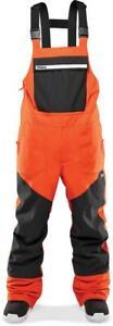 Thirtytwo Basement Mens Bib Pants Orange
