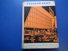 Russisch Lehrbuch /Schulbuch DDR 8  Klasse russki jasük antike Ausgabe 1965 HC