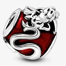 Mulan Mushu Guardian Dragon 925 Sterling Silver Dangle Charm Tennis Bracelet