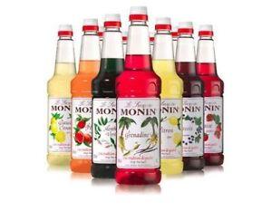 MONIN 1L Premium Coffee Syrup **~MULTI LISTING~**
