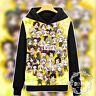 Anime Hetalia Axis Powers Unisex Hoodie Pullover Sweatshirt Jacket Coat #HH31