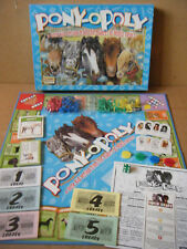 """PONY-OPOLY"" Children's Monopoly type game. By Late for the Sky games. Complete."